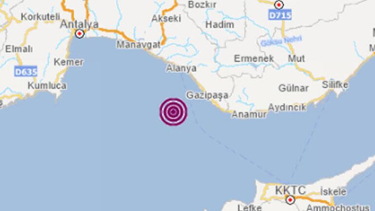 Son dakika haber: Antalyada 5.2 büyüklüğünde deprem.. Validen açıklama: Evlerinin önüne çıkmalarında bir mahsur yok.
