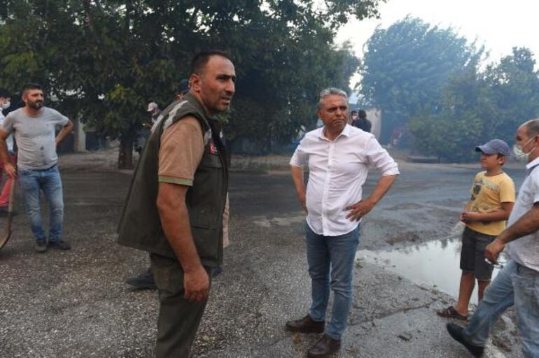 Manavgattaki yangında orman söndürme memurları ile tartışıp havaya ateş açan Yusuf Güney gözaltında